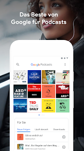 Google Podcasts Screenshot