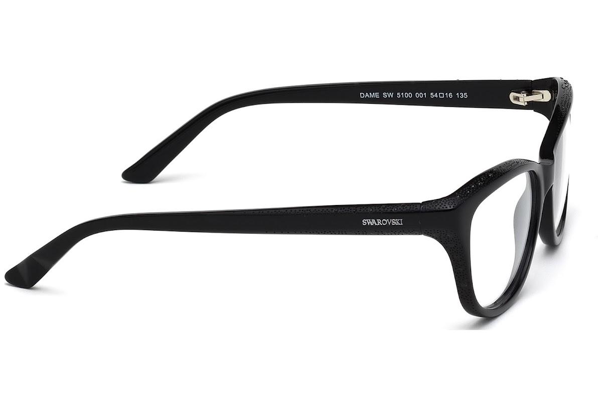 Comprar Monturas Swarovski Dame SK5100 C54 001 (shiny black ...