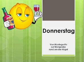 Photo: Am Donnerstag Hügelrundfahrt mit Weinprobe; Steckenprofil s. http://www.gps-tour.info/de/touren/detail.111641.html