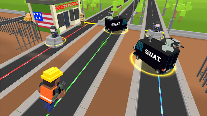 Border Crossy: Road to Freedom - screenshot