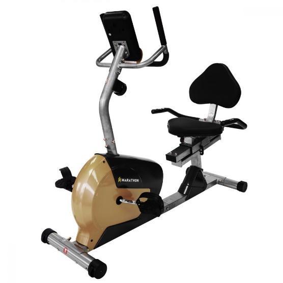 Marathon จักรยานนั่งปั่น รุ่น AL-439L สีทอง-ดำ จักรยานอากาศ จักรยานวงรี  เครื่องออกกำลังกาย จักรยานบริหาร จักรยานออกกำลังกาย | Lazada.co.th