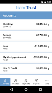 Idaho Trust Mobile Banking- screenshot thumbnail