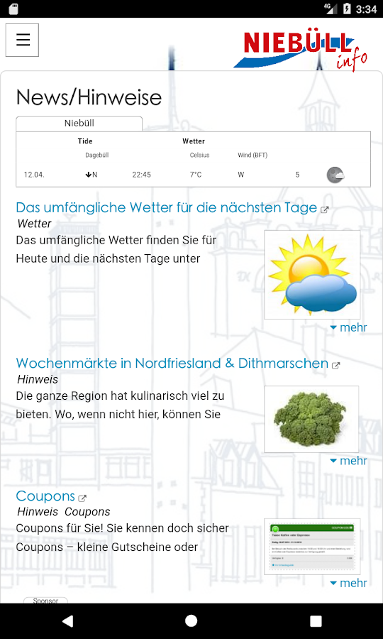 NIEBÜLLinfo- screenshot