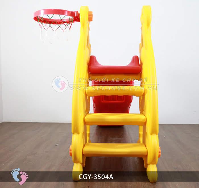 Cầu trượt cho bé hình thỏ YGC-3504A 4