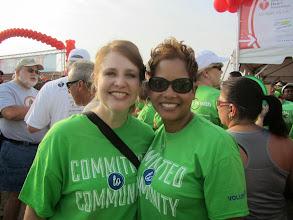 Photo: Tarrant County Heart Walk, September 7, 2013