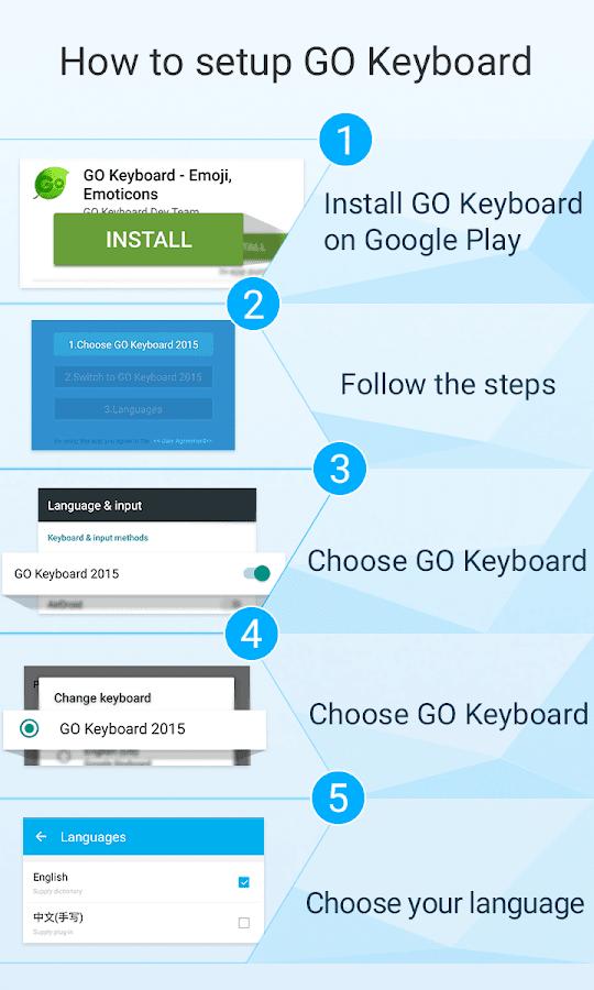 GO Keyboard Steam Punk theme- screenshot