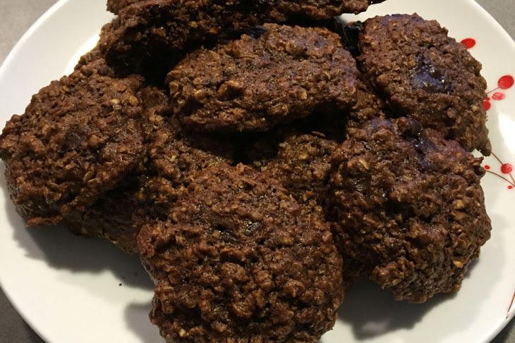Oatmeal Walnut Cocoa Nib Cookies Recipes — Dishmaps
