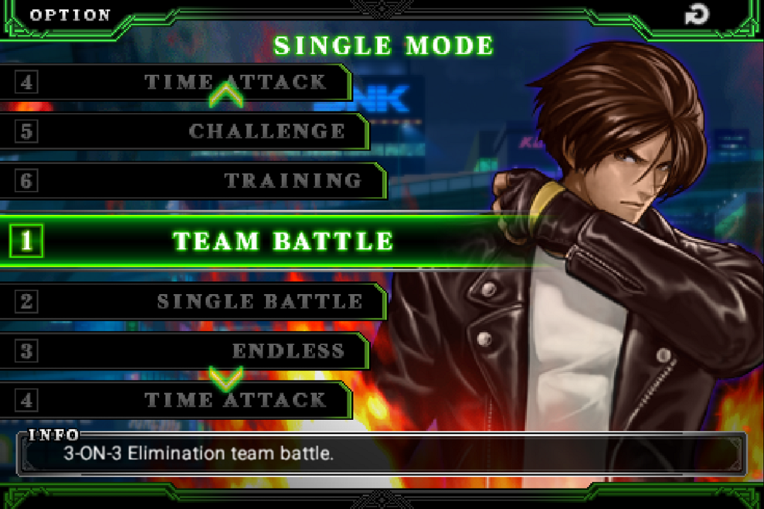 THE KING OF FIGHTERS-A 2012- screenshot