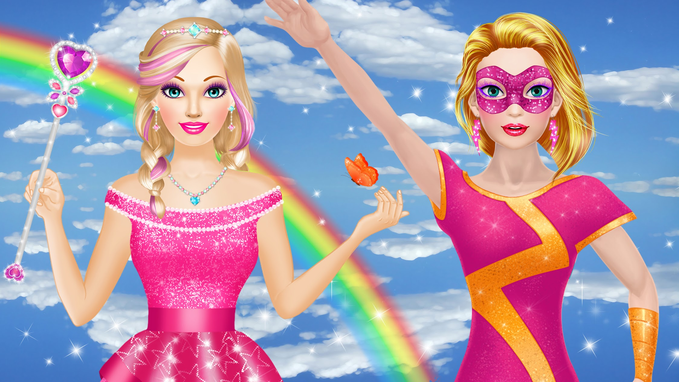 Peachy Games - Makeup and Dress Up Games for Girls