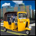 City Auto Rickshaw Driver icon