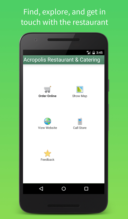 Acropolis Mobile- screenshot