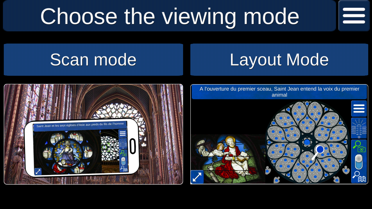 Sainte-Chapelle stained glass- screenshot