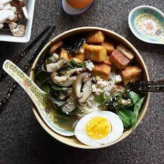 Miso Ramen With Tofu.