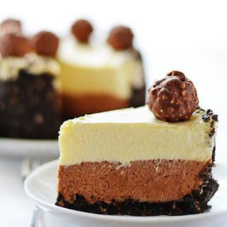Nutella Oreo Cheesecake.