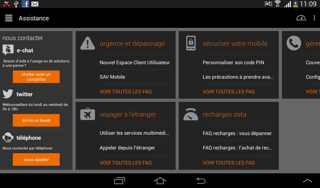 Orange Business Lounge- screenshot