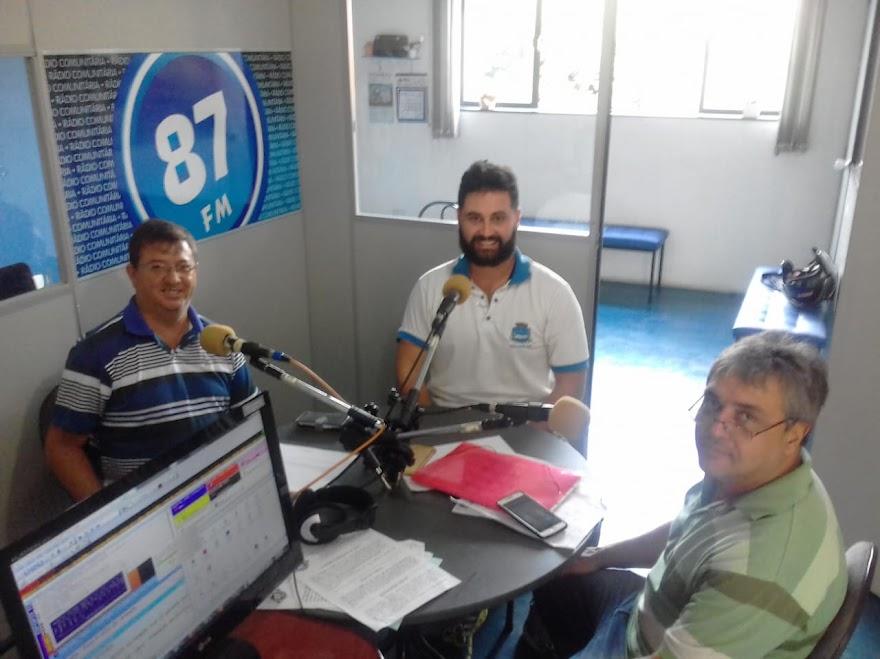 Edir Mesquita, Murilo Gallate e Donacio Silva