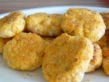 Salmon-Carrot Nuggets