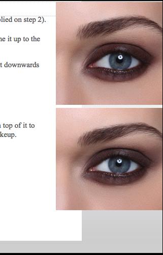 Eyes Smoky Makeup