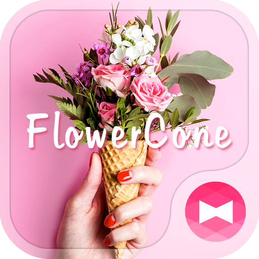 Cute Wallpaper Flower Cone Icon