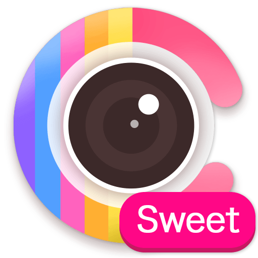 Sweet Candy Camera - beauty selfie photo editor Icon
