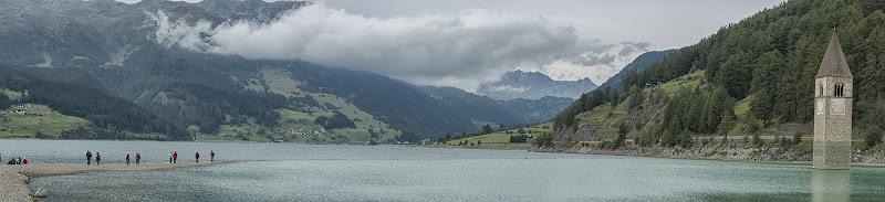 Lago di Resia di Domenico Cippitelli