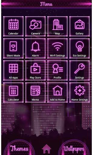 City Theme-Purple Love City- 1.0.0 Windows u7528 2