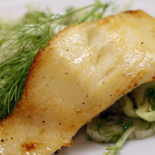Pastis-Glazed Fish with Fennel Slaw