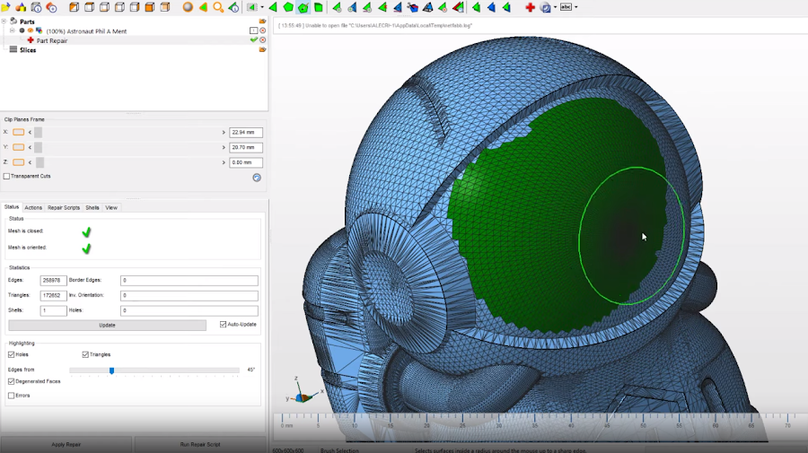 Autodesk Netfabb made a seemingly unattainable task possible, but isn't without its own struggles.