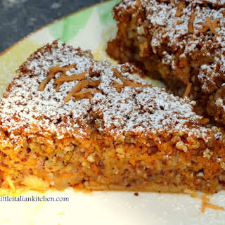 Carrot And Almond Cake Gluten Free.