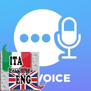 Italian - English voice translator APK icon