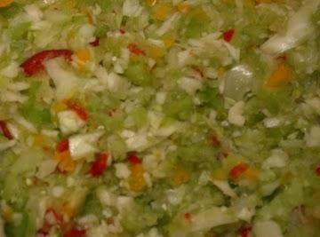 Jeanne's Chow-chow Recipe