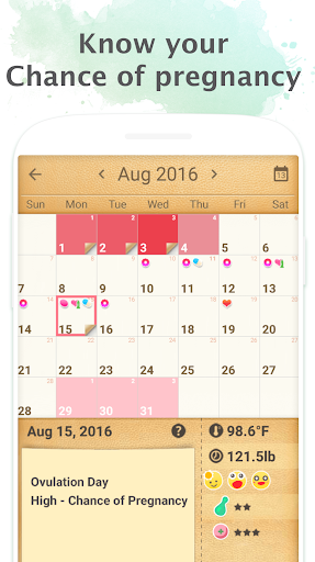 Period Tracker - Period Calendar Ovulation Tracker screenshot 3