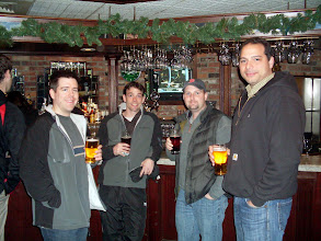 Photo: Longhill Energy at your service - Matt Edmonds, Dave Ball, Marc Parent, and that good looking guy