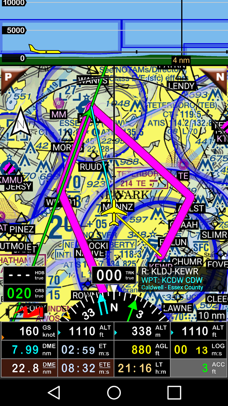 FLY is FUN Aviation Navigation Screenshot