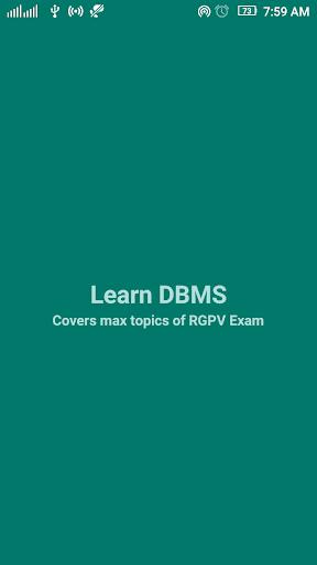 Learn DBMS 1.6 screenshots 1