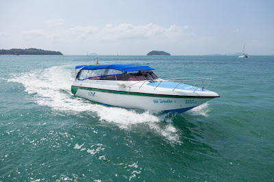 Travel from Koh Phi Phi to Phuket by speed boat