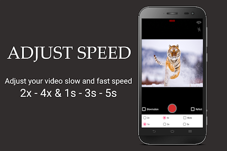 Fast and slow motion camera reverse - náhled