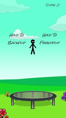 Stickman Trampoline - screenshot