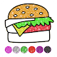 Food Coloring Game - Learn Colors for kids Download on Windows