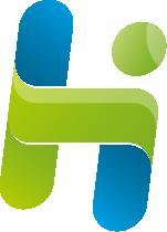 Hybride IT-docent logo icon