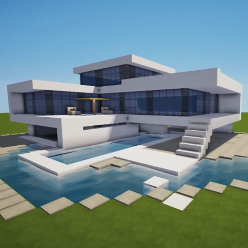App app app for Minecraft modernes haus download 1 7 2