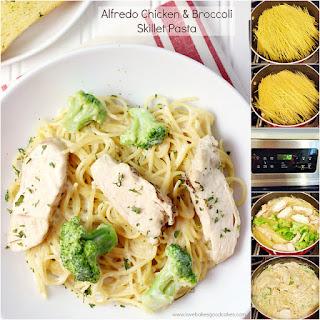 Alfredo Chicken & Broccoli Skillet Pasta