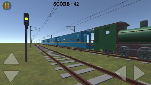realistic indian train crossing pro screenshot 2