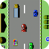 Car Racing-Road Fighter-The classic childhood game