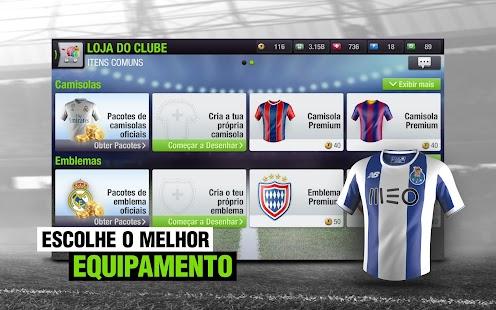 Treinador de futebol online