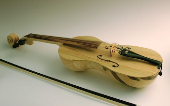 Photo: Ed Karch - Fiddle - Maple, Koa, Ebony, Poplar, Cocobolo