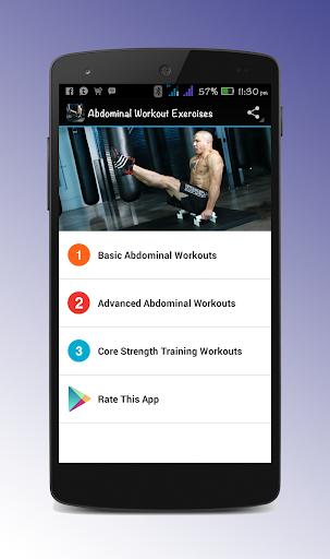 Abdominal Workout Exercises