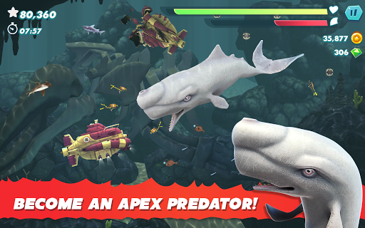Hungry Shark Evolution apktram screenshots 12