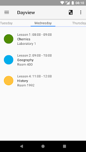 Timetable 10.0 APK with Mod + Data 2