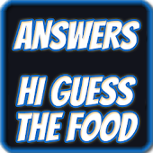 Answers Hi Guess The Food
